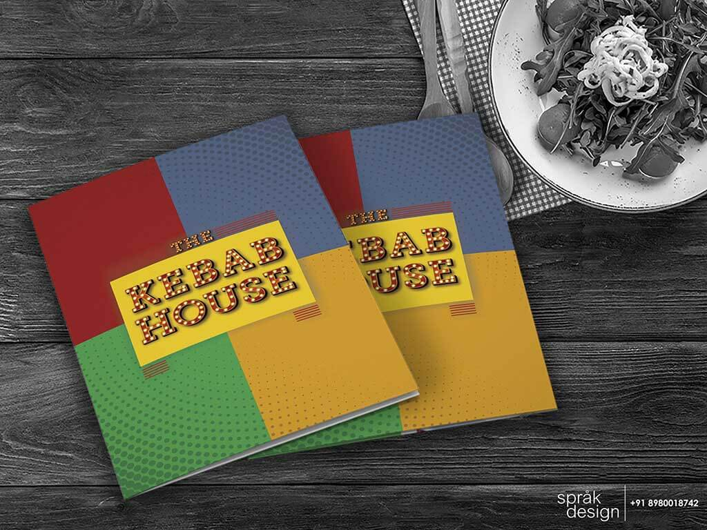 The kebab house menu