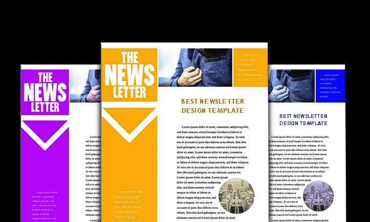 Best Newsletter Design Template
