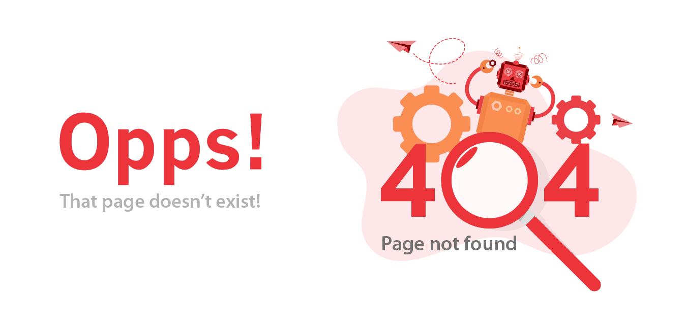 Sprak Technolabs 404 page