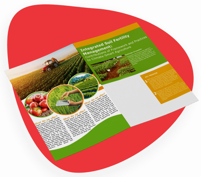 Brochure Design For Agriculture
