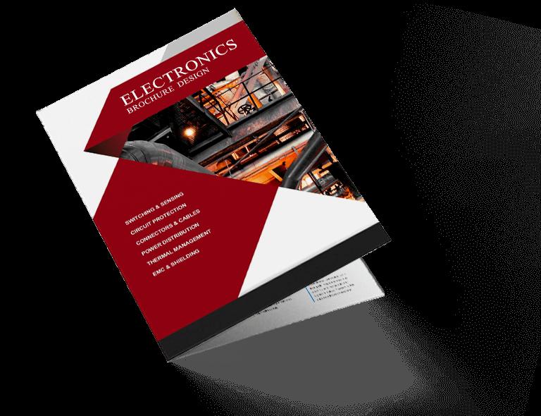 Brochure Design for Electronics