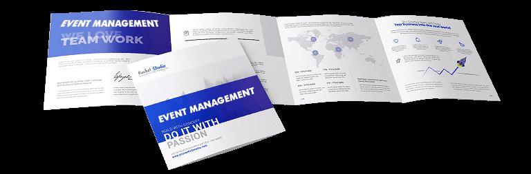 Brochure Design for Event Management Company