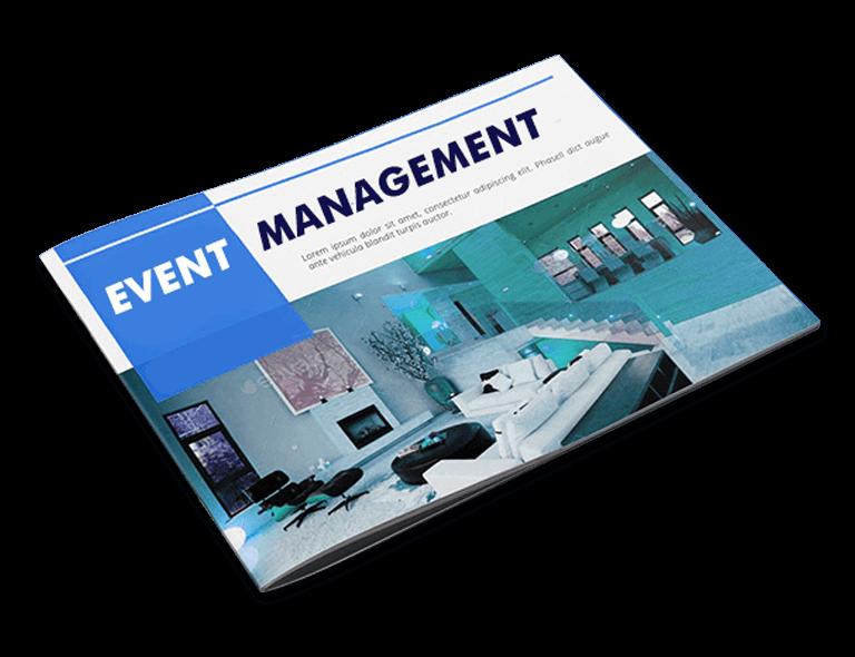 Event Management Brochure Design