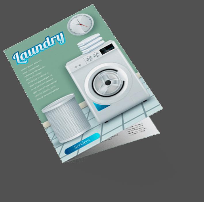 Laundry Brochure Design