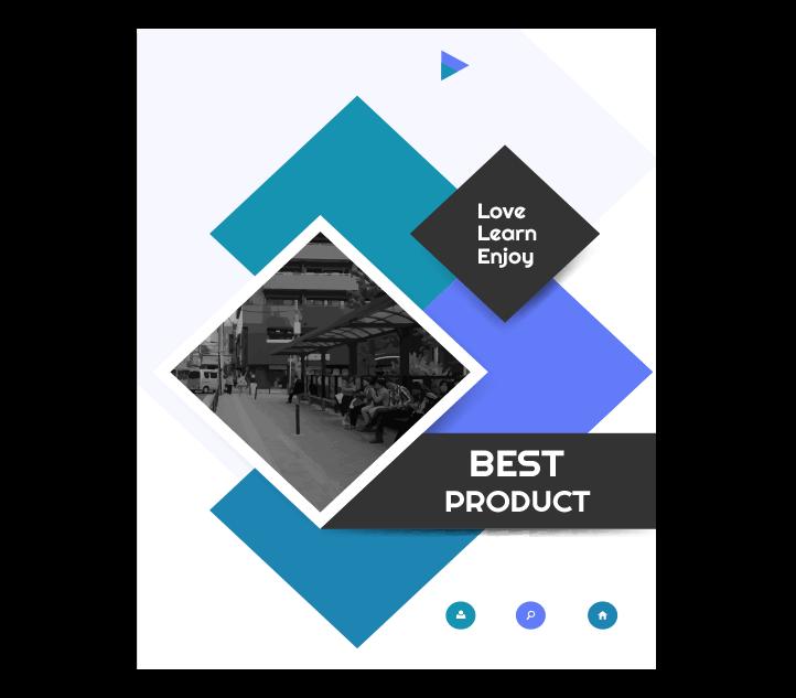 Creative Catalogue Designing Option